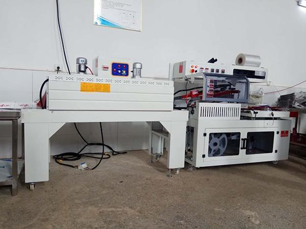 自动封切机+热收缩机