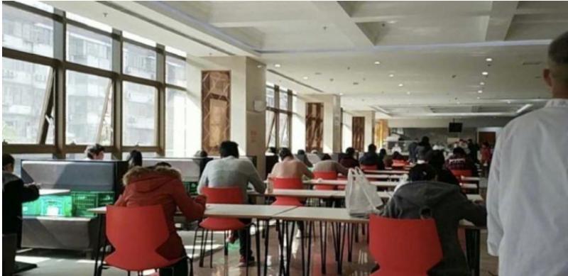 众翔资讯:武汉疫情返岗第一天 单位食堂吃出高考感觉