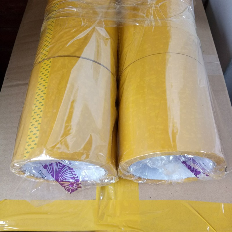 黄色封箱胶带